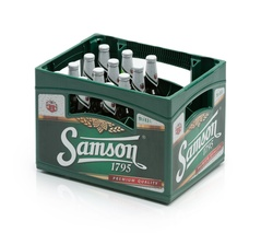 Bottle crate  for beer bottles and mineral water