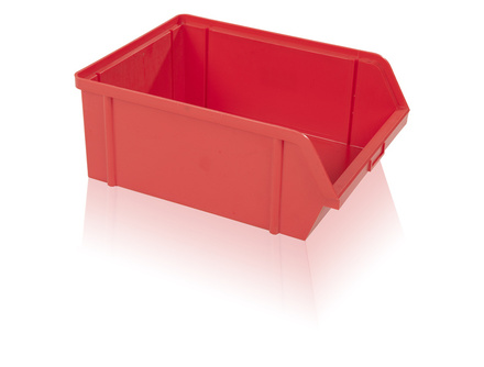 Storage box  PS 40 kg - red