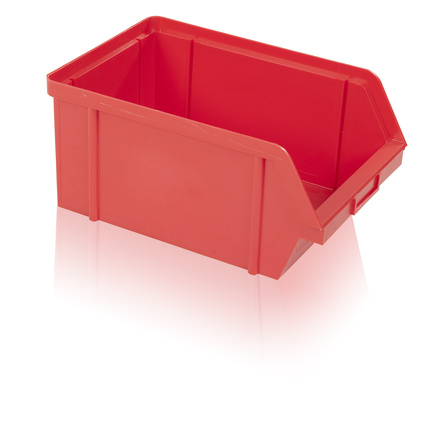 Storage box PS 20 kg - red