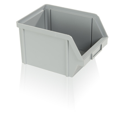 Storage box PS 10 kg - gray