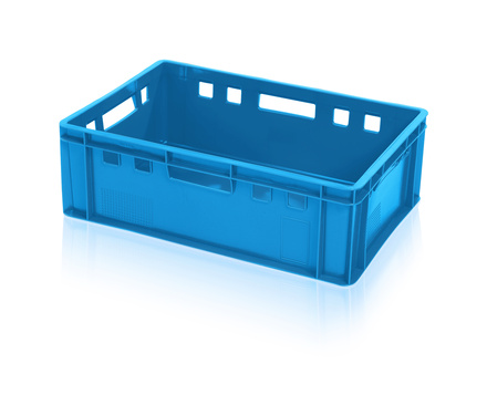 Meat container E2 - blue