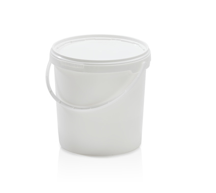 Bucket with lid 10,8 l
