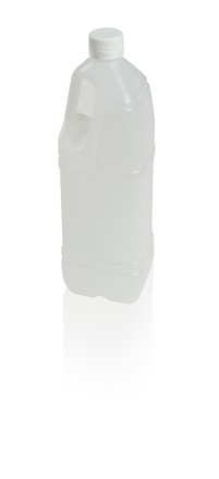Bottle 1 l with handle