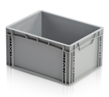 Euro container closed handles 40x30x22 cm