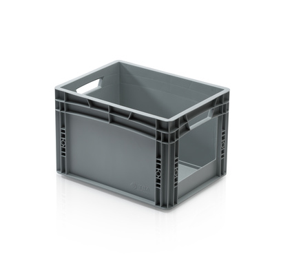 Euro container with open front 40 x 30 x 27 cm