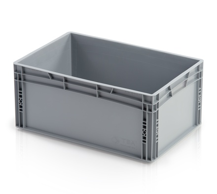Euro container closed handles 60x40x27 cm
