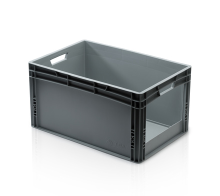 Euro container with open front 60 x 40 x 32 cm