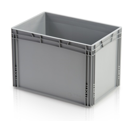 Euro container closed handles 60x40x42 cm