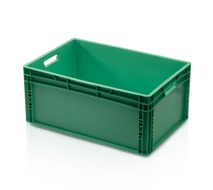 Euro container 60x40x27 cm - green