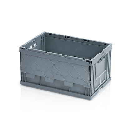 Folding container 60 x 40 x 32 cm with lid