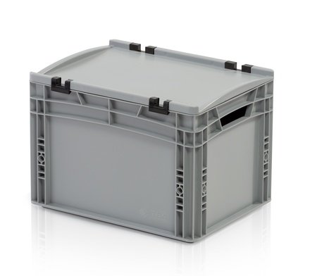 Euro container with lid 40x30x27 cm