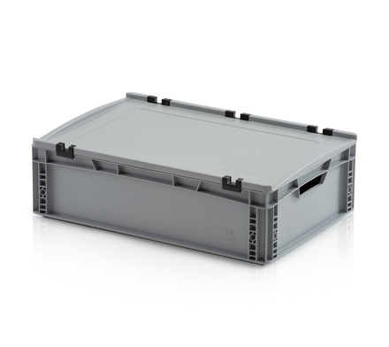 Euro container with lid 60x40x17 cm