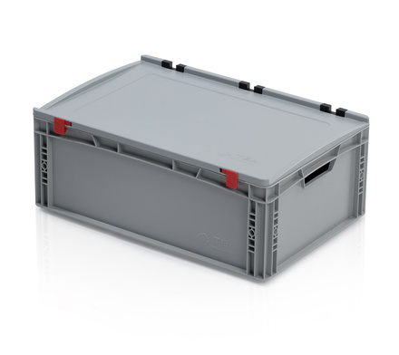 Euro container with lid 60x40x23,5 cm