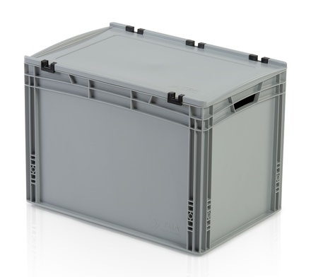 Euro container with lid 60x40x42 cm