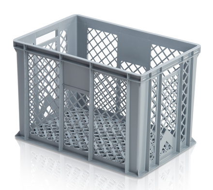 Euro container perforated 60 x 40 x 41 cm