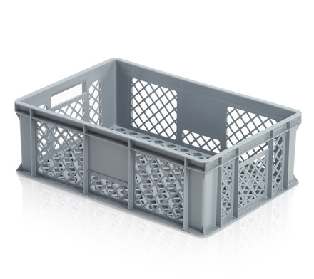 Euro container perforated 60 x 40 x 20 cm