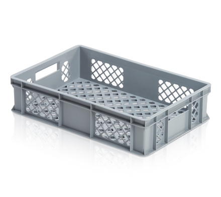 Euro container perforated 60 x 40 x 14 cm