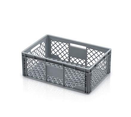 Euro container perforated 60 x 40 x 22 cm