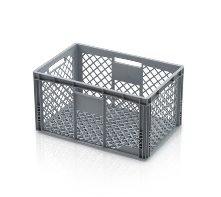 Euro container perforated 60 x 40 x 32 cm