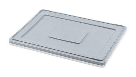 Lid for Euro containers 60x40 cm - grey
