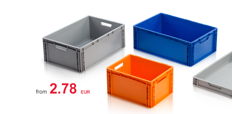 Euro containers Directly from the manufacturer
