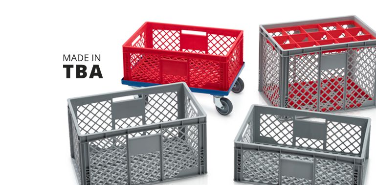 Euro containers perforatedDirectly from the manufacturer